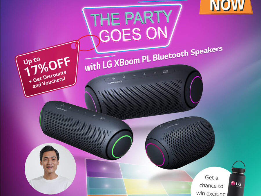 The Party Goes on With LG XBoom Go