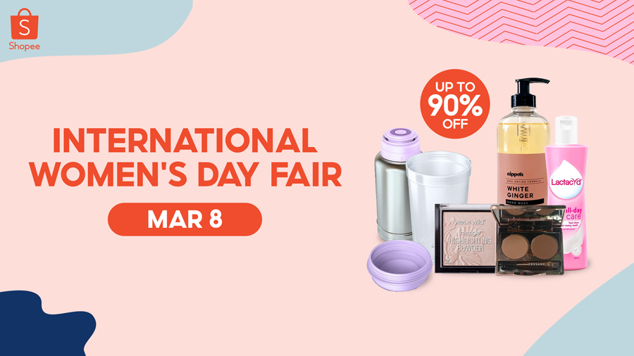 10 Finds for Every Kind of Woman at the Shopee's International Women's Day Fair