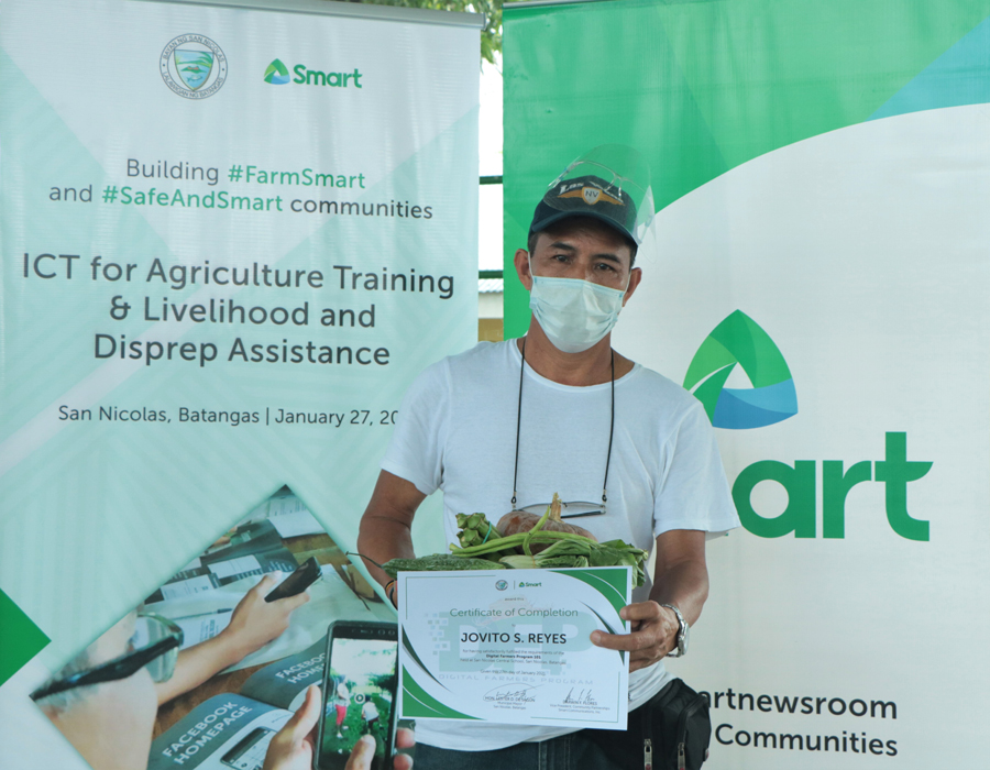 PLDT, Smart extend aid to Taal residents reeling from volcano eruption, pandemic