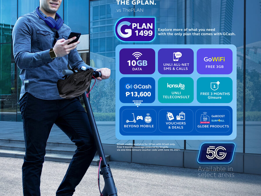 Globe rolls out all-new GCash-powered GPlans– limitless options in the customer's hands