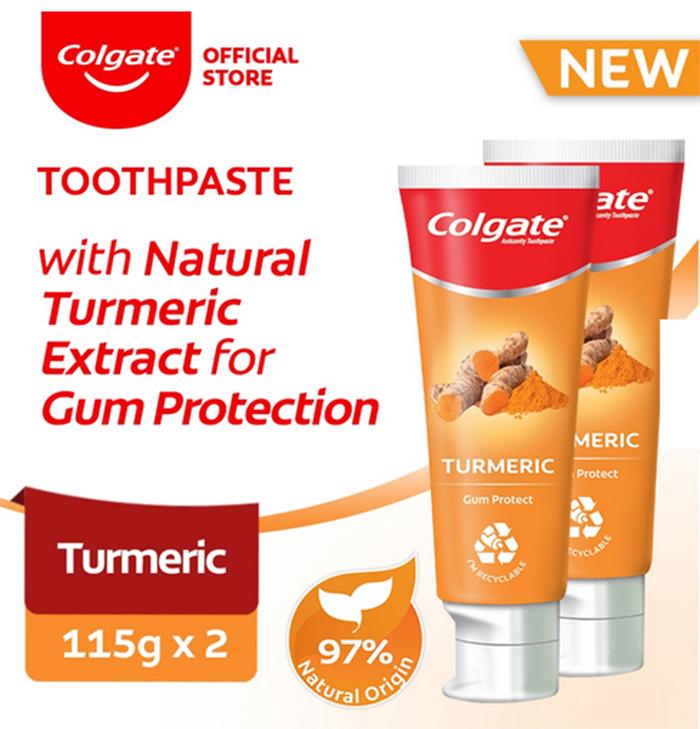 Colgate Naturals Turmeric Gum Protect Toothpaste