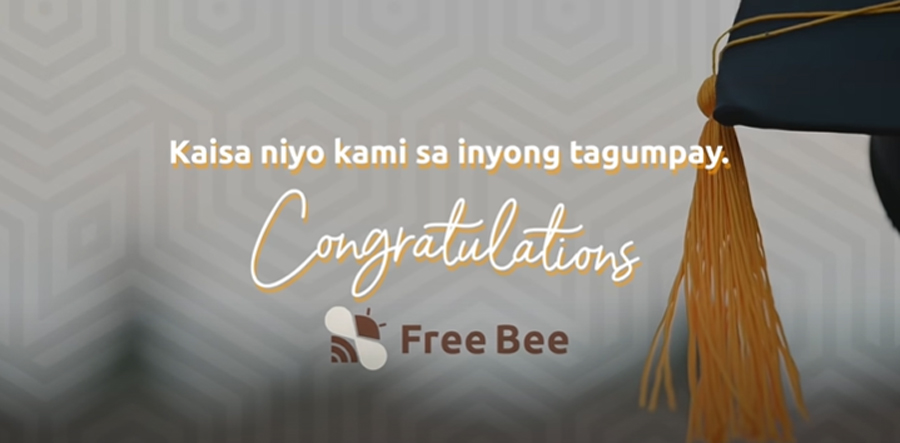 Free Bee celebrates graduation season with OFWs