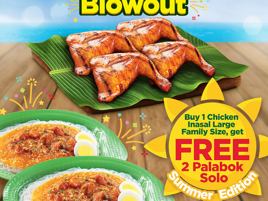 Another Blowout treat for Mang Inasal Chicken and Palabok fans
