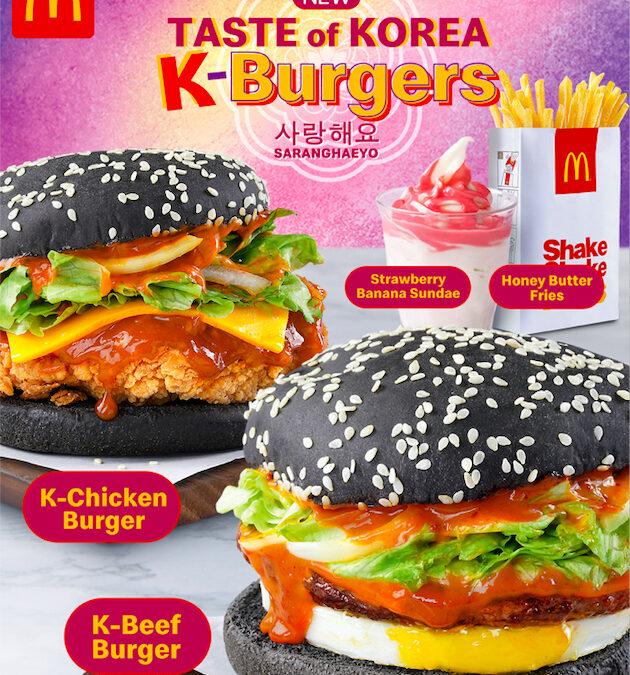 Experience the Korean Wave with McDonald's NEW Taste of Korea!