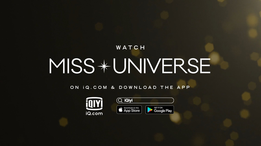Miss Universe Organization Crowns iQiyi International as exclusive streamer in the Philippines for MISS UNIVERSE Competition
