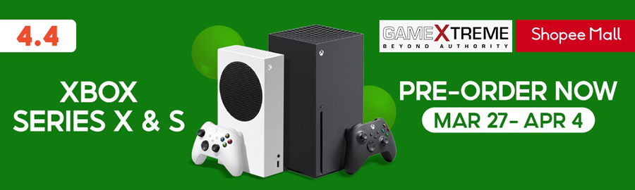 GameXtreme Xbox Pre-Order Only on Shopee