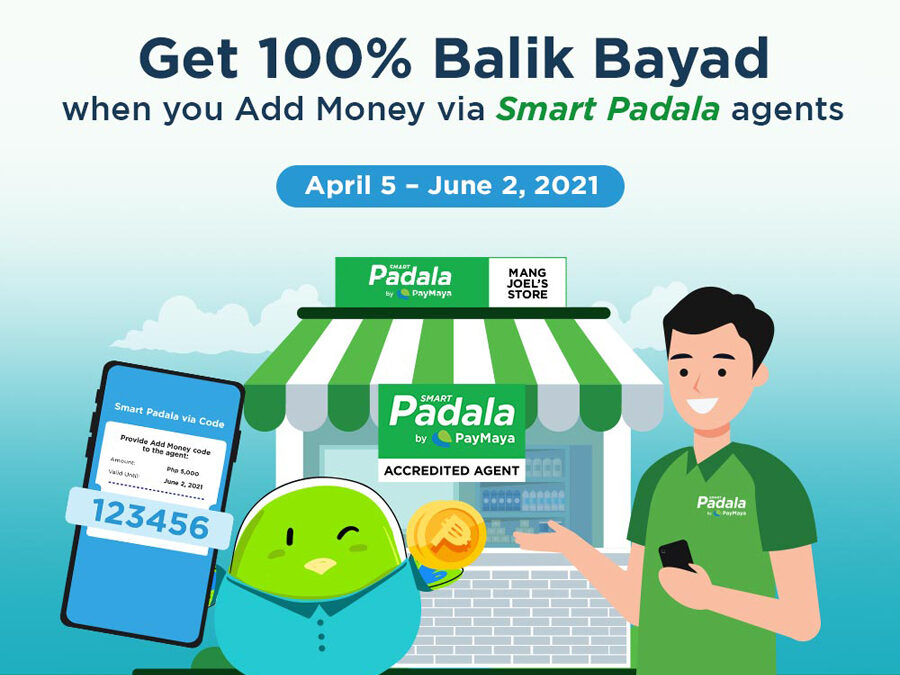 Get exciting rewards for your PayMaya Add Money transactions at Smart Padala