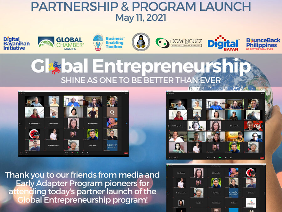 PH Online movement launches partnership with global and local organizations to help Filipino entrepreneurs gain global competencies