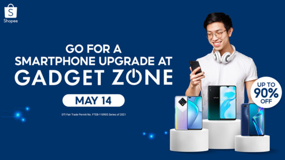 Upgrade to these Affordable Smartphones at Shopee's Gadget Zone