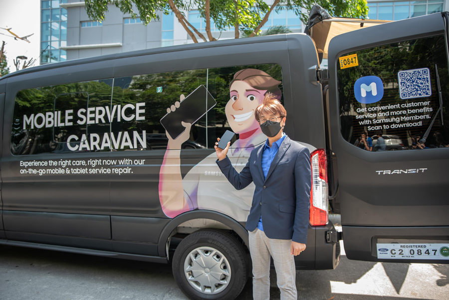 SAMSUNG brings its world-class service closer to customers with the Galaxy Mobile Service Caravan