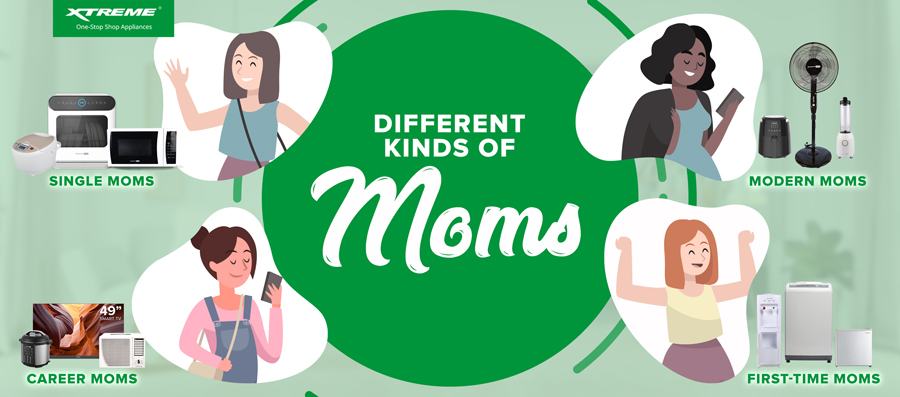 Perfect XTREME Appliances for every kind of mother for as low as ₱995!