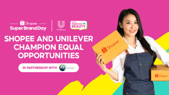 Shopee and Unilever Say Yes to Equal Opportunities and Continue its Support for Local Sellers through its Positive Beauty Campaign