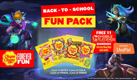 Chupa Chups Brings MLBB and UniPin Philippines in New Product Collaboration for Gamers