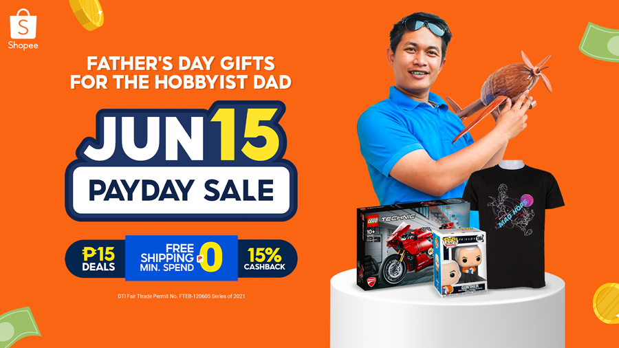 Score these Cool Gifts for Your Hobbyist Dad at Shopee's Payday Sale