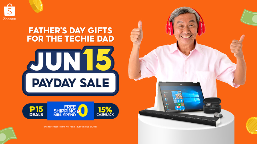 Score these Cool Gifts for Your Techie Dad at Shopee's Payday Sale