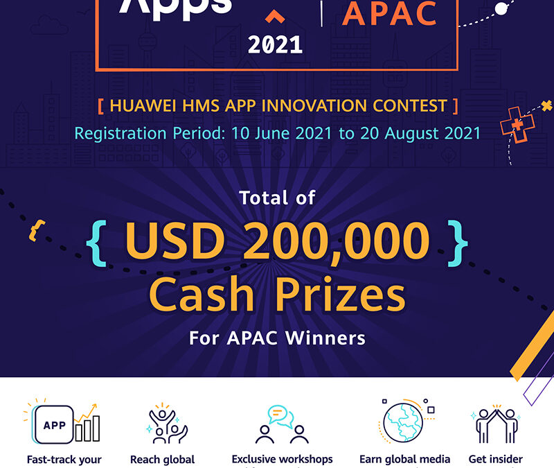 Huawei Mobile Services Launches AppsUP App Contest for the Second Year with US$200,000 Cash Prizes in Asia Pacific lauds PH teams who won last year