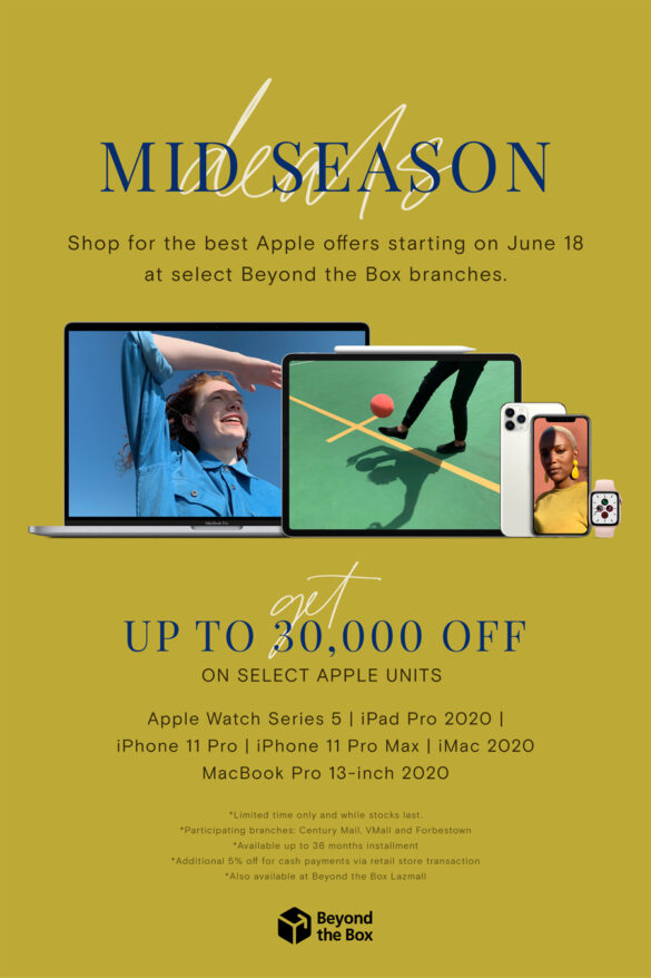 Shop for the Best Apple Offers only at Beyond the Box's Mid Season Deals!
