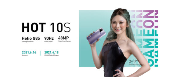 Game On, Philippines! Get today's best budget gaming smartphone Infinix HOT 10S starting from only Php 5,490 on Shopee