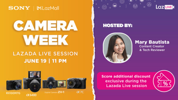 Sony Philippines holds first-ever Camera Week exclusive on Lazada