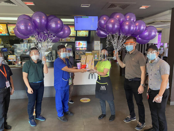 Over 2,000 medical frontliners first enjoy the McDonald's BTS Meal in the Philippines