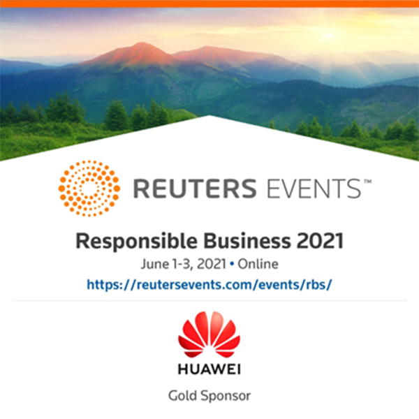 Huawei was one of the sponsors of Responsible Business 2021