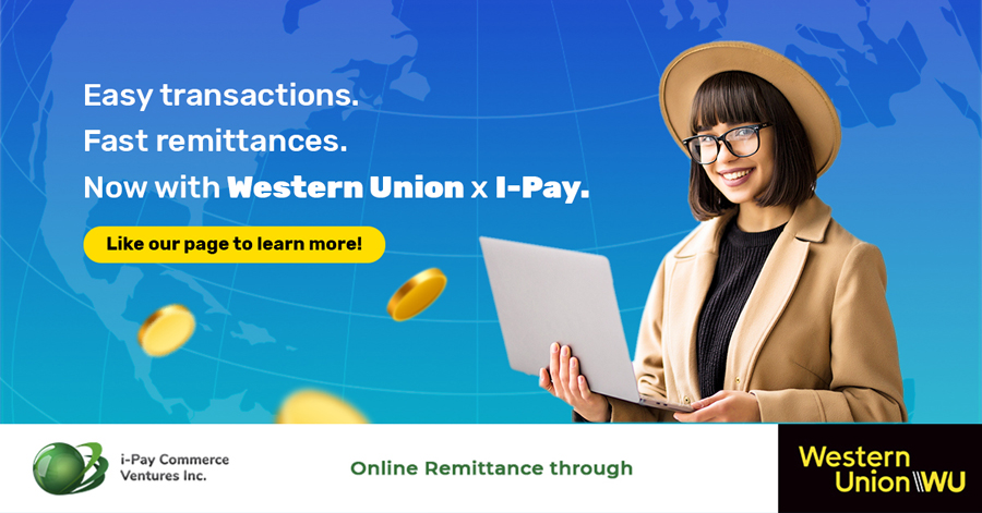 I-Pay bolsters longtime partnership with Western Union, Offering Money Transfers into Bank Accounts with Shopee