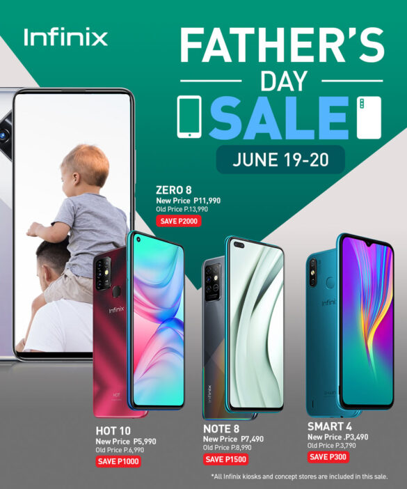 Infinix Father's Day Sale: Up to Php 2,000 discount on your favorite models