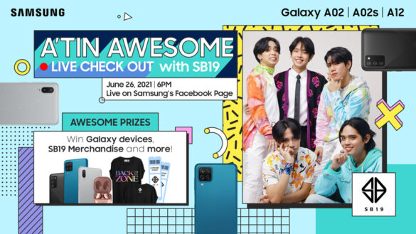 Join #TeamGalaxy SB19 at the SAMSUNG A'TIN Awesome event on June 26