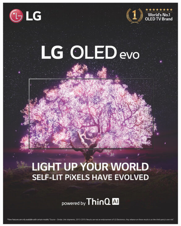 LG Lights Up Your World With OLED TV Technology
