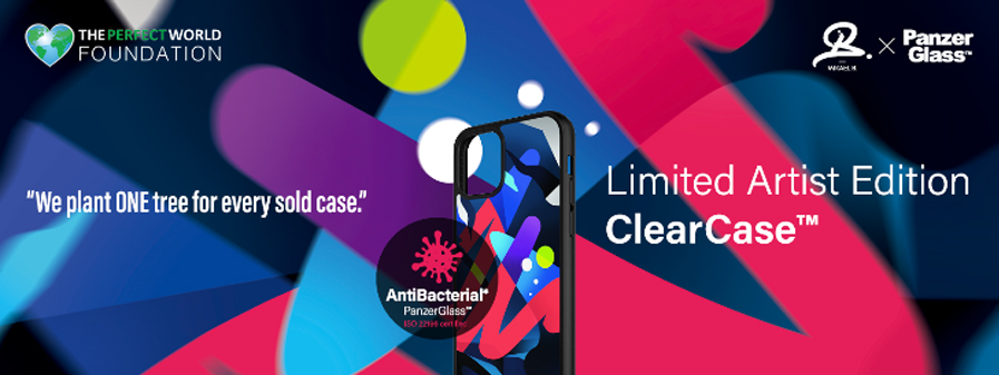 The First Ever Limited Artist Edition ClearCase from PanzerGlass