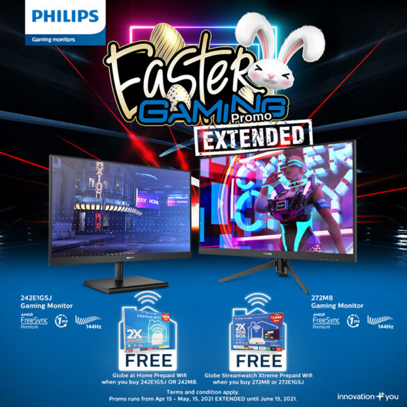Philips Easter Gaming Promo Extended