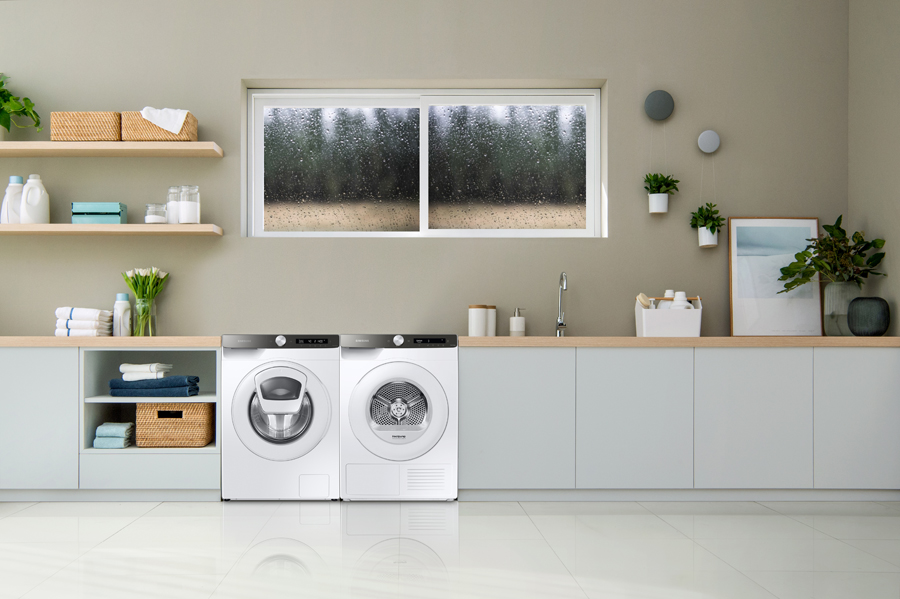 Stress Free Laundry Days with Samsung's Washer and Dryer Lineup