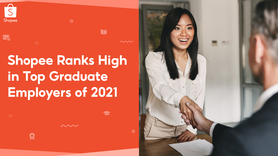 Shopee Among Top 30 on the List of GradPhilippines' Top Graduate Employers of 2021
