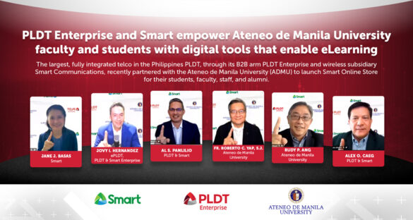 Smart, PLDT Enterprise and ADMU launch Ateneo Smart Online Store