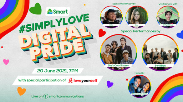 Smart celebrates all kinds of #SimplyLove for Pride Month