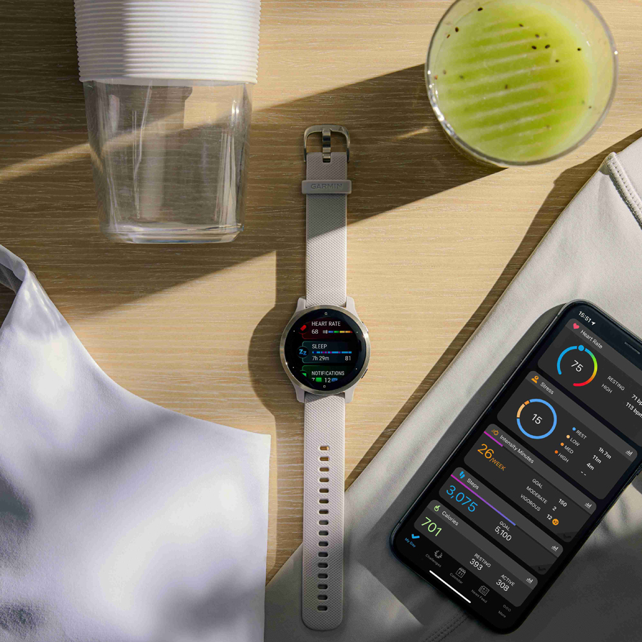 Work on a better you! Garmin champions overall wellness in style with the new Venu 2 series GPS smartwatches
