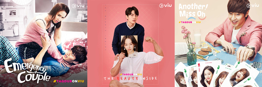 Viu Philippines Launches New Tagalog-dubbed K-Dramas