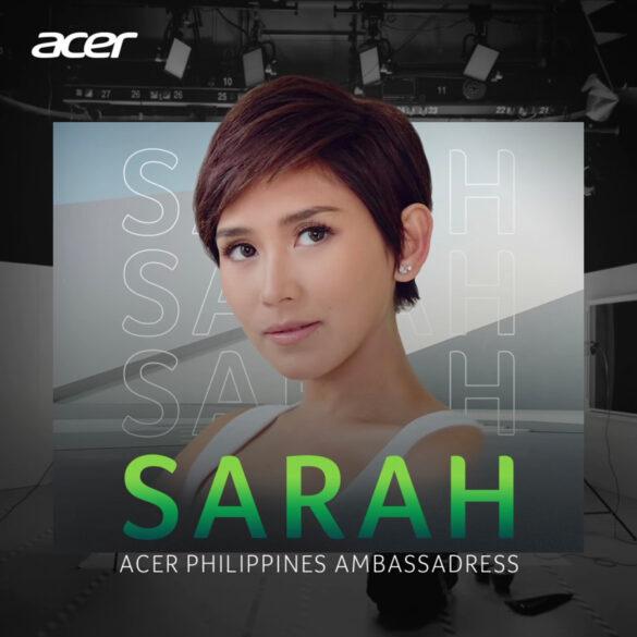 Acer intros Sarah Geronimo as newest ambassador, hypes up #AcerDay2021