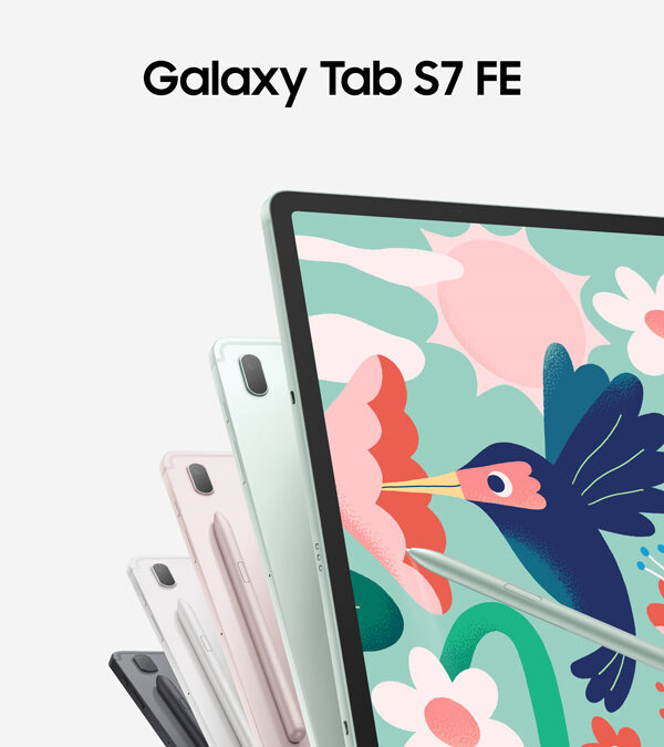 Boost learning, productivity, and creativity with the new Samsung Galaxy Tab S7 FE, now available nationwide!