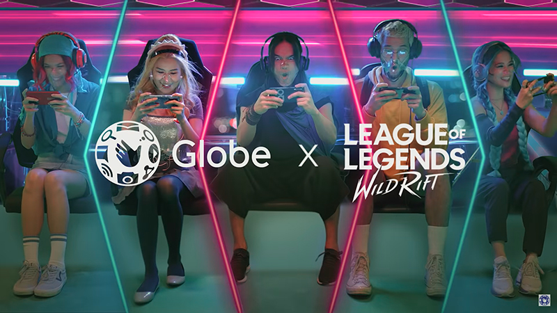 #OwnEveryGame on League of Legends: Wild Rift with the Globe-exclusive RiotGO80
