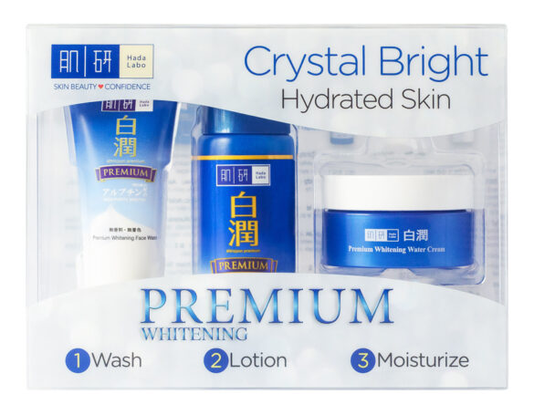 Get brighter and clearer skin with Hada Labo Premium Whitening range