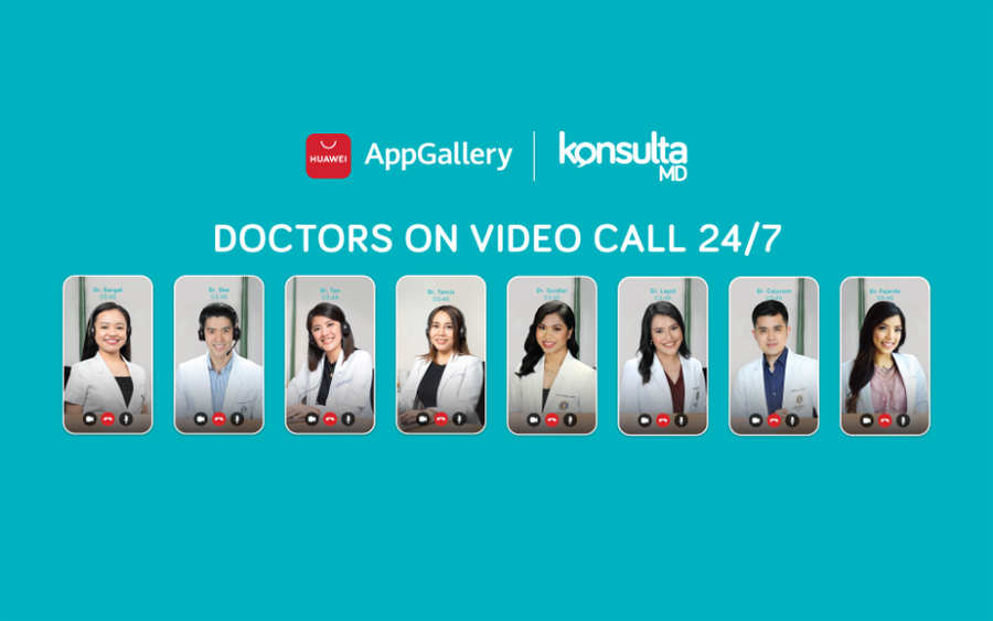 KonsultaMD: App launched in HUAWEI AppGallery, experience teleconsultations with licensed doctors 24/7