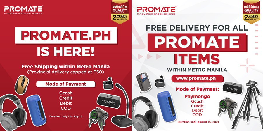 Promate's e-commerce website is now live!