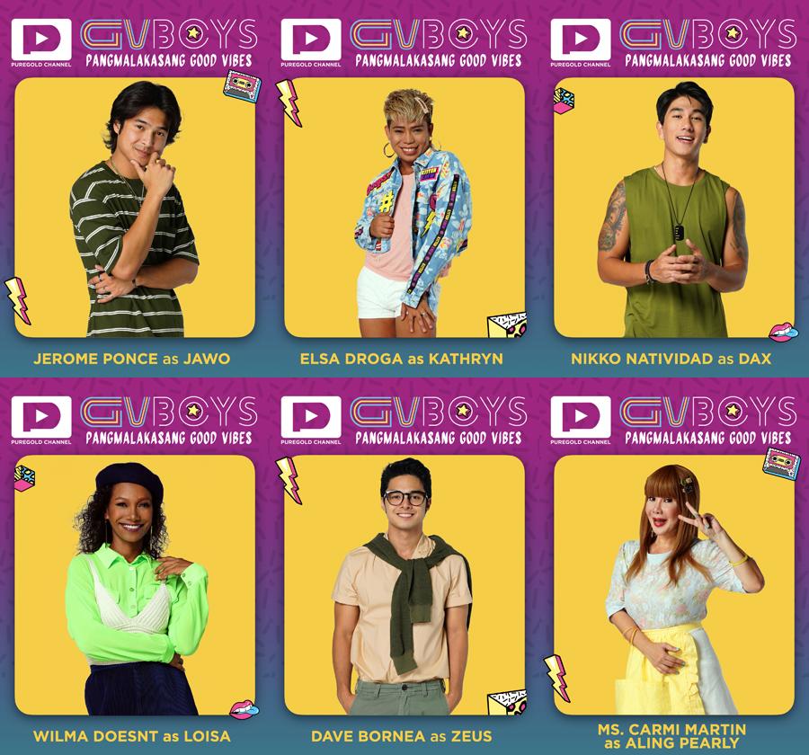 FREE STREAMING: Puregold Channel's First Digital Series 'GVBOYS: Pangmalakasang Good Vibes'