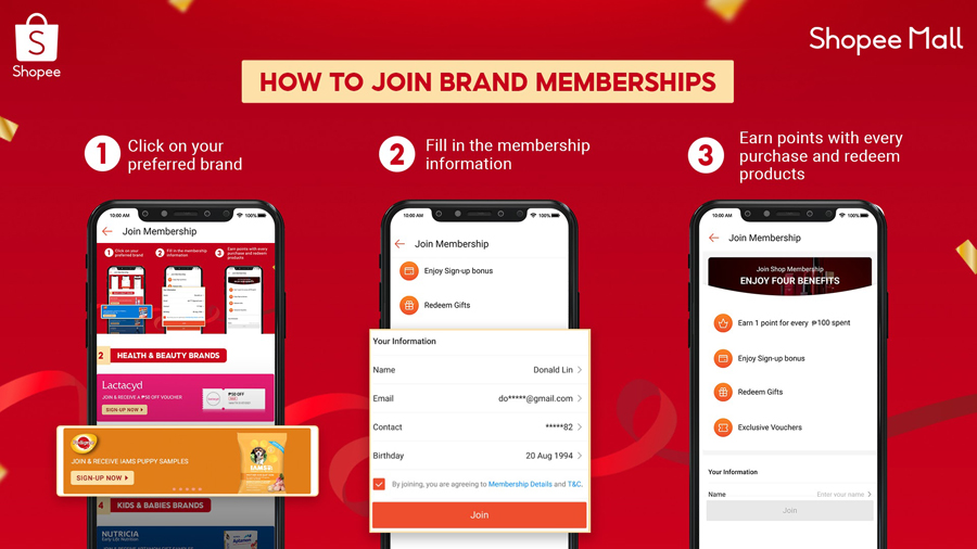 Shopee Mall Launches Brand Memberships Program to Help Brands Grow Customer Loyalty and Retention