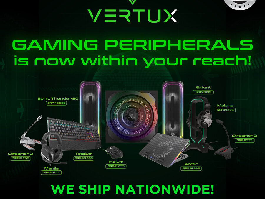 Here's a long list of your must-haves from Vertux
