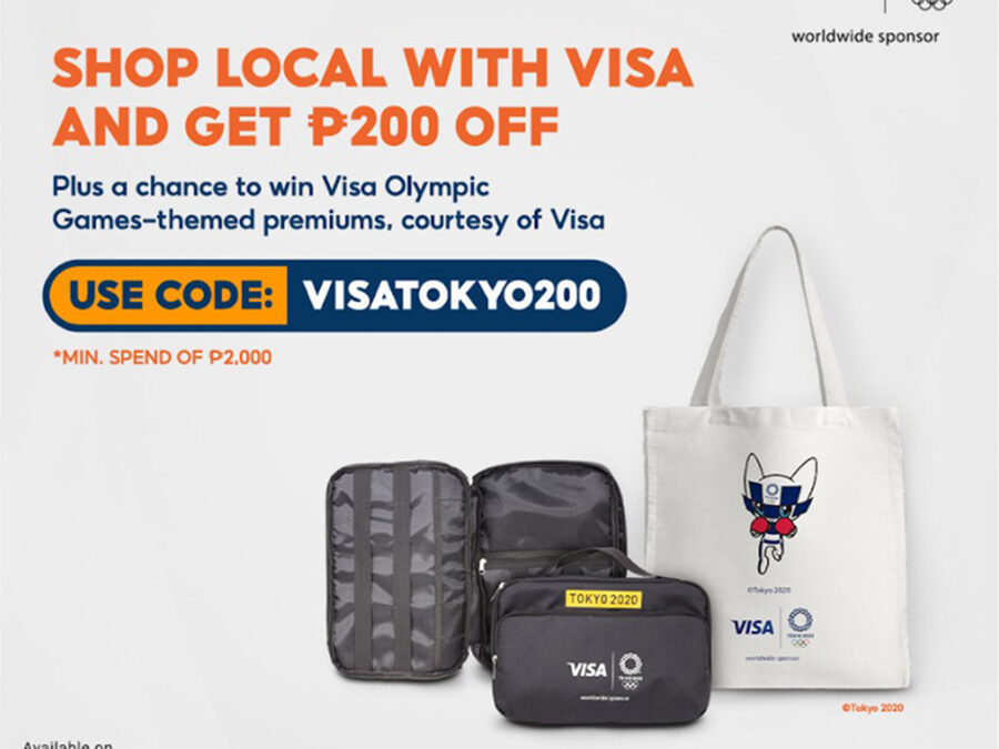 Visa's Olympic Games Tokyo 2020 campaign for Shopee launches in the Philippines