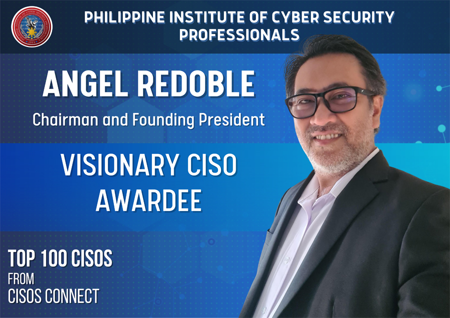 Filipino CISO recognized as VISIONARY by US-based CISOs
