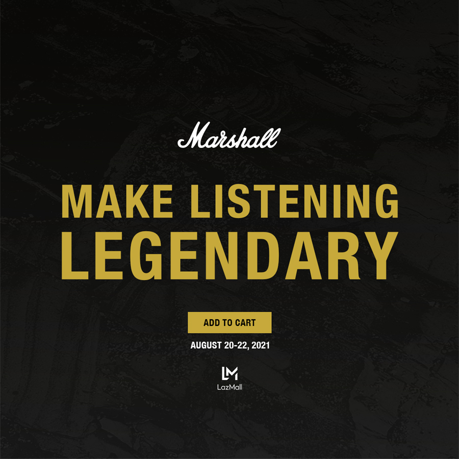 #MarshallLegendsOnly: Marshall's First and Biggest Online Concert this August 21!