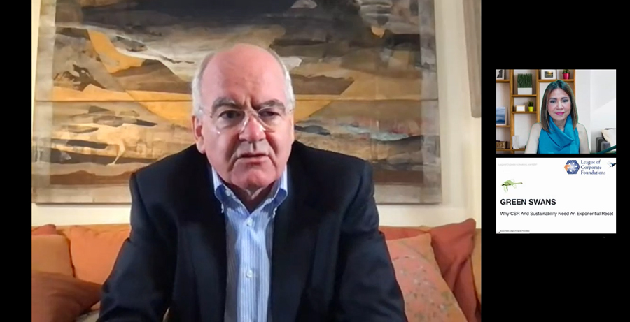 """CSR and sustainability need an """"exponential reset,"""" says business author John Elkington"""